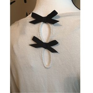 MNG (Mango) Sweaters - MNG Bow Back Sweater